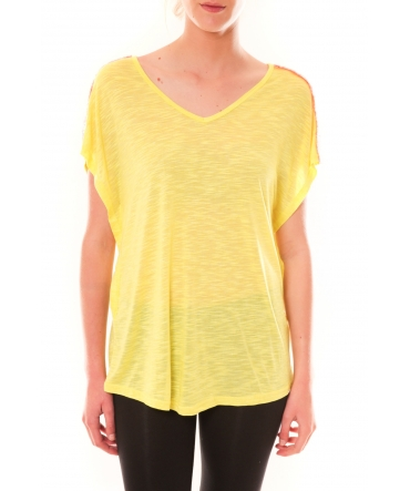 Top M-9388 Dress Code Jaune