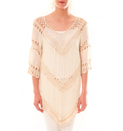 Tunique Bubblee Dress Code Rose poudre