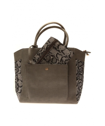 Sac Lollipops Vanimal Hit Shopper Gris