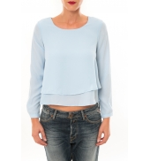 By La Vitrine Top Z014 bleu