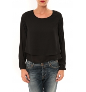 By La Vitrine Top Z014 noir