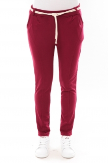 Pantalon Sandra bordeaux
