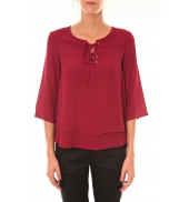 Dress Code Blouse 1652 bordeaux