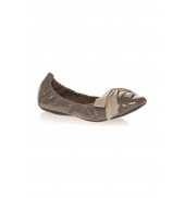 Ballerines Jably taupe vernis
