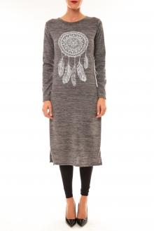 Robe Plume gris