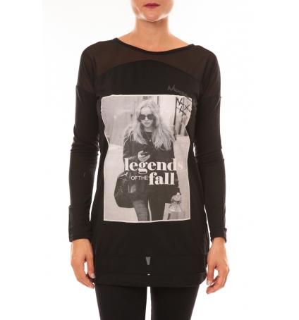 Tee Shirt Manches Longues MC1919 noir