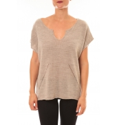 By La Vitrine Pull Callie taupe