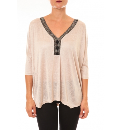 By La Vitrine Top R5550 beige