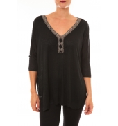 By La Vitrine Top R5550 noir