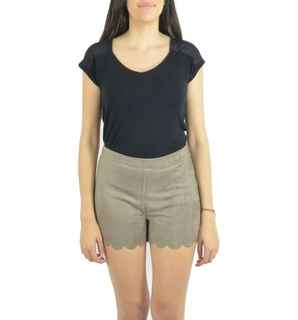 By La Vitrine Short 53713 taupe
