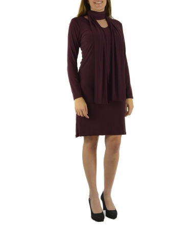Dress Code Robe 88158 bordeaux