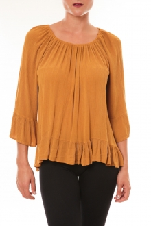 Blouse Giulia moutarde