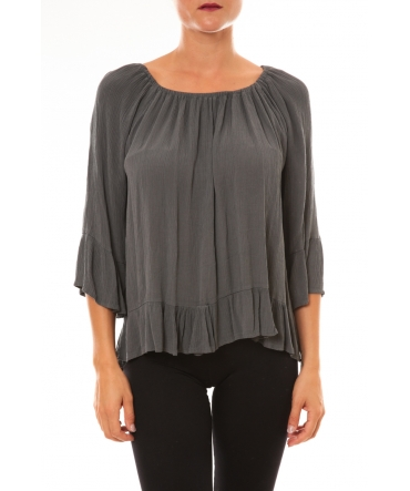 Blouse Giulia anthracite