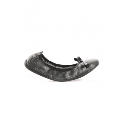 LPB Woman ballerines Ella Army noir