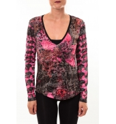 Custo Barcelona Top Bambi Luxurious rose