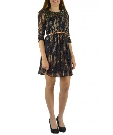 Barcelona Moda Robe 71525014 noir