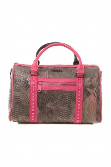 Sac Snaky Thicket noir et rose