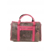 Custo Barcelona Sac Snaky Thicket noir et rose