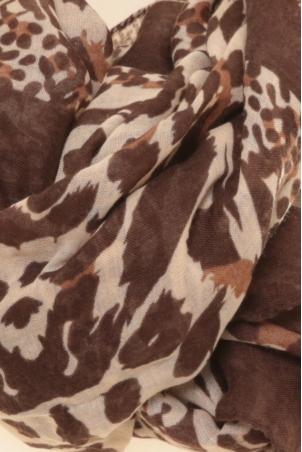 Foulard HLN-7004 marron
