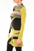 Bamboo's Fashion Robe Tribal BW622 vert