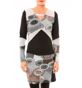 Bamboo's Fashion Robe Cercle BW613 gris