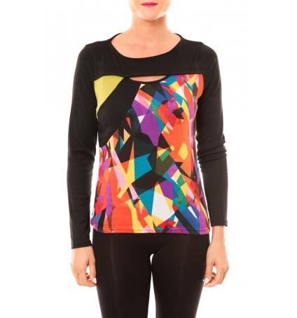 Bamboo's Fashion Top BW623 noir