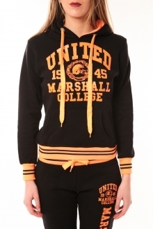 Sweet Company Sweat United Marshall 1945 noir/orange