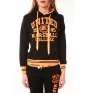 Sweet Company Sweat United Marshall 1945 noir/orange