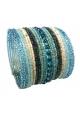 LVDLM Bracelet en perles Louisa bleu