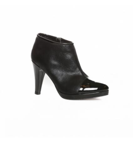 LPB Bottines Beatrix Noires - Chaussures les ptites bombes