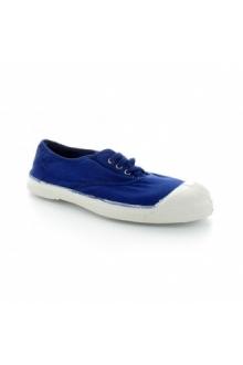 Bensimon Tennis à lacets Bleu Vif