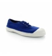 Bensimon Tennis à lacets Bleu