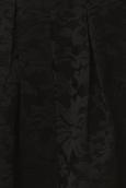 Jupe brodée Noir