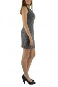 Robe sans manches Gris R6236
