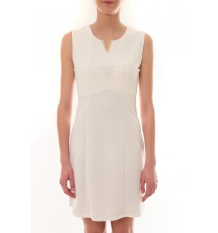 Robe sans manches Blanc R6236