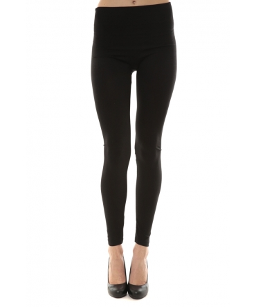 Legging noir 2 zip