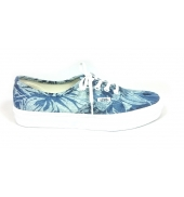 Vans Authentic Indigo Tropical Bleu 03B9IEJ