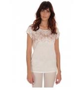 Les Petites Bombes Tee Shirt Manches courtes irisé Blanc S164006