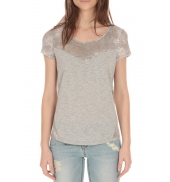 Les Petites bombes Tee Shirt Manches Courtes bimatière Perle S164501