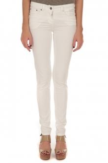 Pantalon Slim Strech Blanc S161201