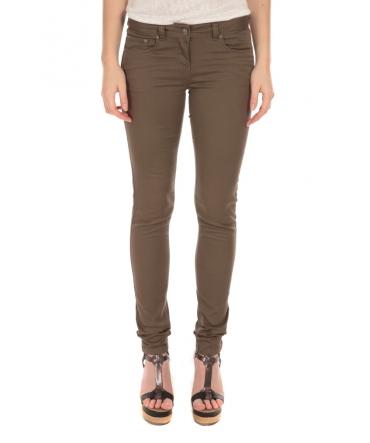 Pantalon Slim Stretch Kaki S161201