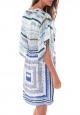 Ema Blues Robe Patchouli Bleu