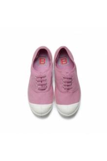 Bensimon Tennis à lacets Violet