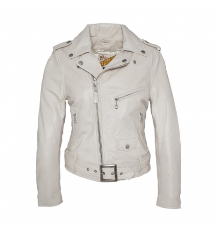PERFECTO FEMME SCHOTT Blanc LCW 8600