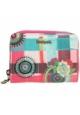 Porte Monnaie DESIGUAL magnetic Wendy  Rose