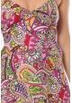 Robe Bretelle Sofia  imprimée Fleurs