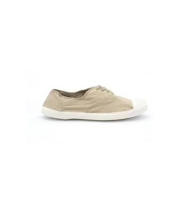 Bensimon Tennis à Lacets Beige new
