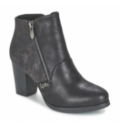 Les P'tites Bombes Bottines Baltimore Noir