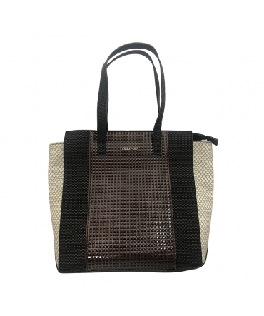Sac lollipops Yannis Large  Shopper Noir Blanc