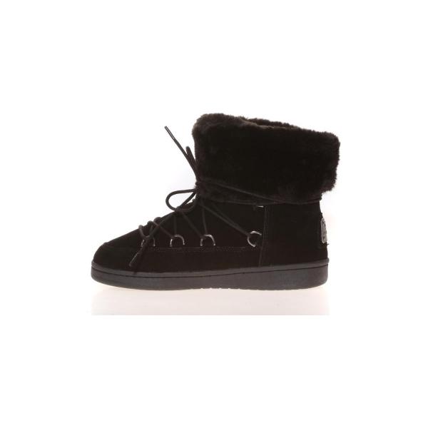nouveau style fa018 3d0dd Ilario Ferucci Boots Rysis Noir - La Vitrine de la Mode